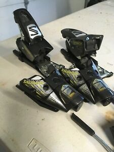 SALOMON 797 SKI BINDING ALPINE DOWNHILL With Brakes