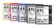 5 x Original Tinte Ricoh Aficio SG-2110N SG-3110DN 7100DN / GC-41 INK Cartridges