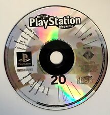 PlayStation Magazine DEMO DISC #20 • MAY ©1999 • GEX 3 - LEGEND of LEGAIA etc.