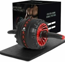 Ab Roller Wheel Abdominal Fitness Gym Exercise Equipment Core Training
