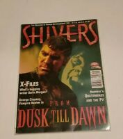 Shivers Horror Magazine 31 July 1996 From Dusk Till Dawn X-Files George Clooney