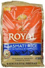 Royal Basmati Rice 20-Pound Bag 20 Pound