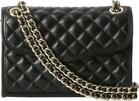 Rebecca Minkoff Black Mini Quilted Affair Cross-Body Bag Style H3241001 - NWT