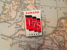 CUNARD 175 JAHRE JUBILÄUM PIN LIMITIERTE AUSGABE