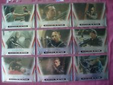 Star Trek Enterprise Season 3 X9 MACOS in Action Chase cards Rittenhouse 2003 VF