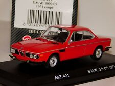 BMW 3000 CS 1971 COUPE RED DETAIL CARS ART 431 1/43