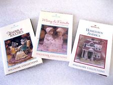 HALLMARK Mini Brochures - S/3 - Hometown America, Tender Touches, Mary & Friends