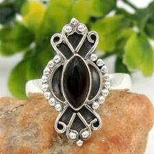 Statement Ring-Black Onyx Gemstone 925 sterling silver Solid Jewelry Size us 9