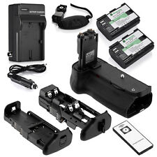 BG-E11 Battery Grip for Canon EOS 5D Mark III + 2 LP-E6 Batteries + Charger
