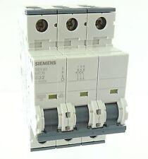 Siemens 5SY43 MCB C32 Sicherungsautomat Leitungsschutzschalter 32A 400V~ 3 polig