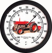 "New 1964 MASSEY FERGUSON 14"" Round Thermometer Model 135  Farm Tractor Soil"