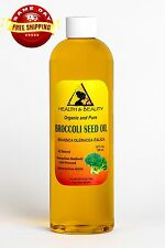 BROCCOLI SEED OIL ORGANIC COLD PRESSED ANTI-AGING by H&B Oils Center PURE 36 OZ
