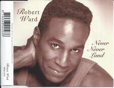 ROBERT WARD - Never never land CD SINGLE 2TR HOLLAND 1997