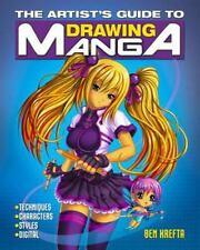 The Artist's Guide to Drawing Manga by Ben Krefta (2016, Paperback)
