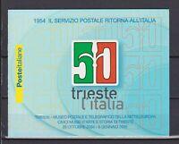 s17325) ITALIA MNH** 2004 Trieste libretto booklet
