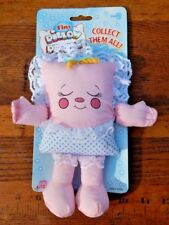 Nos Vintage Tiny Pillow People Rock-A-Bye Baby Sweet Stuffed Pink Deadstock Toy