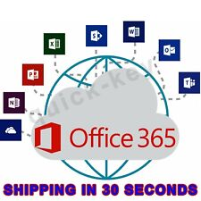 Office 365- 2016 PRO PLUS Lifetime license 5 devices - Shipping 30 Sec