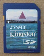 Kingston Technology 256 MB SD Memory Card SD/256 256MB Fast Shipping USA Seller