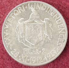 More details for albania 2 franga ari 1937 (e2505)