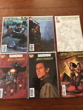 Darkman vs. Army of Darkness 1A 2006 VF Plus Variant Cover Plus 4 Bonus Comics