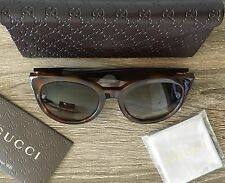 NIB | Gucci Sunglasses | Havana Tortoise Shell | Made in Italy