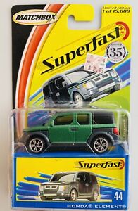 Matchbox Superfast HONDA ELEMENT #44  35th Anniversary 2004