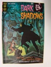 1971 Dark Shadows #9 Barnabas Collins Tv Show Painted Cover Art Gold Key Fn/Vf