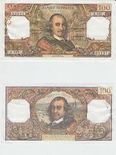 Gertbrolen 100 FRANCS CORNEILLE du 1-4-1971  E.537 Billet N° 1340405151