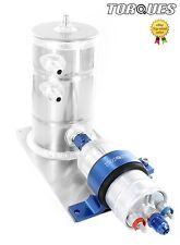 Bosch 044 Fuel Pump and Swirl Pot Tank Assembly AN-8 (-8 AN) Outlet