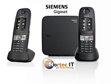 Siemens Gigaset E630A Cordless ECO DECT Phone with 2 x E630H +Answering Machine