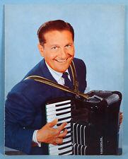 1950s Lawrence Welk Autographed TV Souvenir Program with 3 Signatures Chrysler
