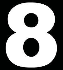 Self Adhesive Vinyl for Wheelie Bin or House Numbers