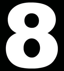 Personalised Wheelie Bin Vinyl Decals Bin Stickers Number House Rubbish