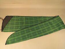 Long Gun Rifle Sleeve Sock Durable Lightweight Case Cover Green Plaid