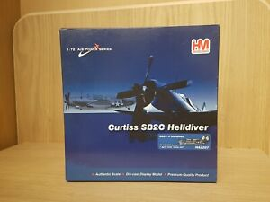 SHOP STOCK HOBBY MASTER Curtiss SB2C4 Helldiver HA2207 VB-83 USS ESSEX White 207