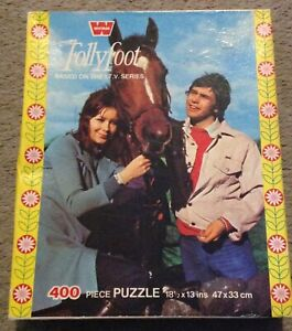 Vintage - Whitman - 400 piece Jigsaw Puzzle - 'Follyfoot' - Complete