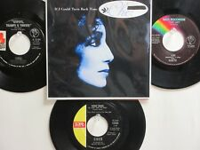 LOT OF 4 ' CHER ' HIT 45's+1P(Copy)[If I Could Turn Back Time] THE 60's-80's!