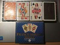 PIATNIK - FRANCE ROYALE BRIDGE - PLAYING CARDS - SEALED