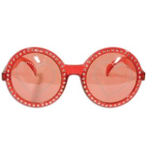 Jeweled Heart Fanci-Frame Glasses Valentine's Day Party Supplies and Decorations
