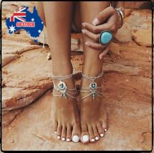 1PC Fashion Women Anklet Silver Charm Ankle Chain Bracelet Foot Sandal Jewelry