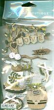 WEDDING Outdoor Rustic Country Nature Jolee's Stickers Scrapbook Crafts