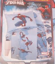 Marvel The Ultimate Spider-Man Kids Boys Blue 3 piece Bed Set NWT