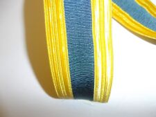 b9722 US Army Officers Gold Dress Blue Cap Braid service Visor Hat IR19E