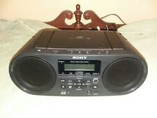 Used Sony Zs-Rs60Bt Cd Boombox w/ Bluetooth/Nfc Am/Fm Usb Headset+Line-in
