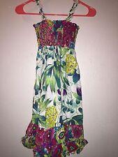 Blueberi Boulevard Girls Floral Summer Dress Sundress- Size 5