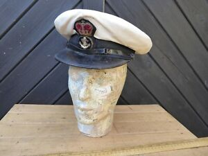 1950s  Royal Navy Officers Cap / Petty Officers Cap - Army & Navy Cap co.  6 3/4