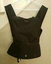 Patapum Infant Baby Carrier Padded Backpack Black