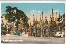 Burma; Shrines, Shwe Dagon Pagoda, Rangoon PPC, Unposted, c 1920's