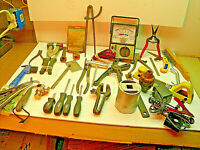 Junk Drawer Box 21A14 Vintage TOOLS, Machinist, Metal Working,  RESELL, Gifts
