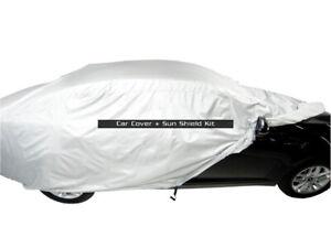 MCarcovers Fit Car Cover + Sun Shade for 2002 Ferrari 550 Maranello MBSF_126045